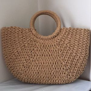 Beautiful woven purse